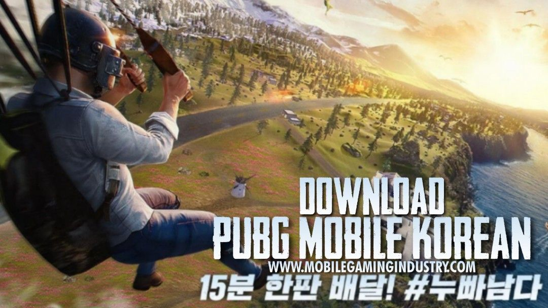 Latest Pubg Mobile Korean Kr Version Download Mobile Gaming Industry In 2021 Korean Version Game Update