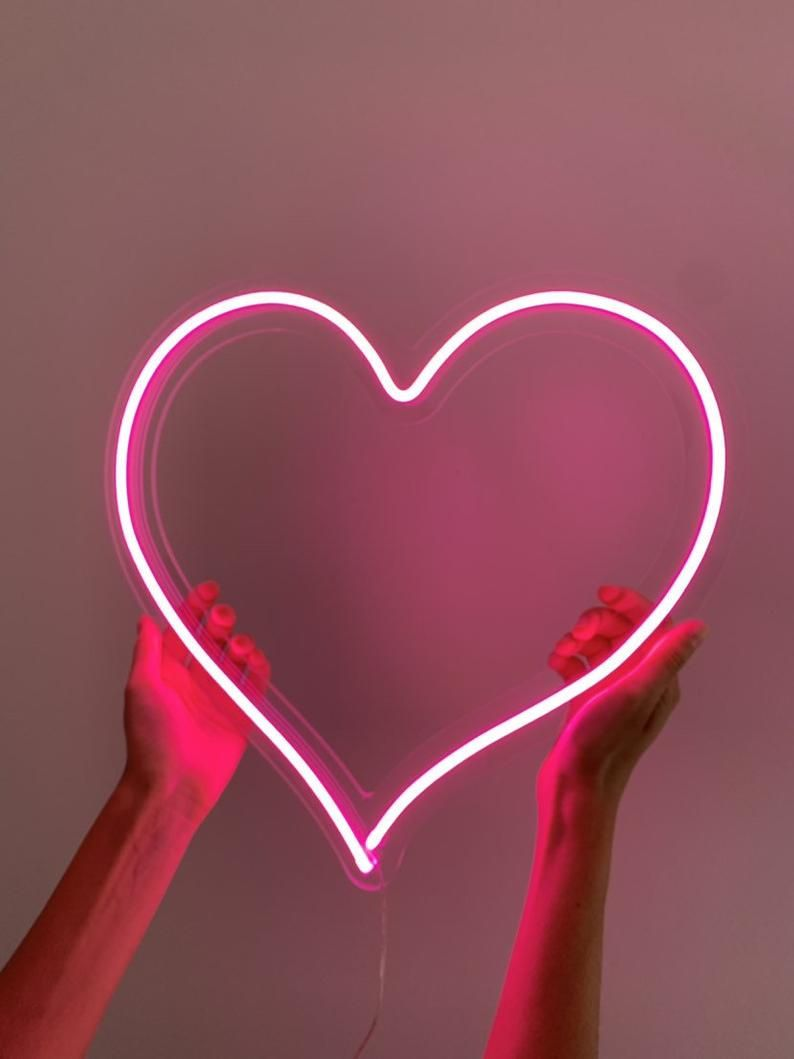 Heart - custom LED Neon Sign. Choose your color