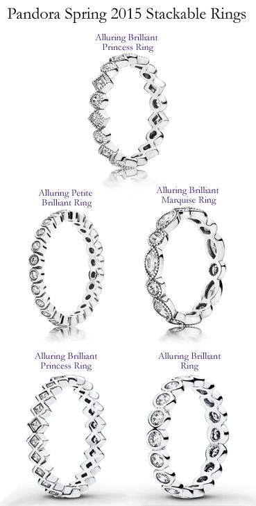 b7fa04351 Pandora Stack-able Rings | PANDORA at Exclusively Diamonds | Jewelry ...