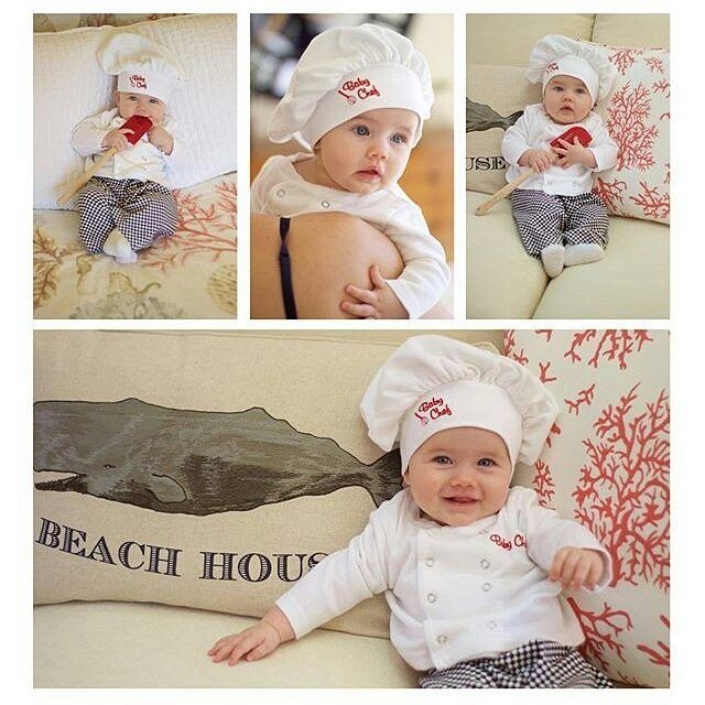 Baby Aspen On Instagram A Little Chef S Hat A Tiny Babychef Outfit Total Adorableness Thanks For Sharing Your Newborn Baby Gifts Baby Aspen Baby Chef