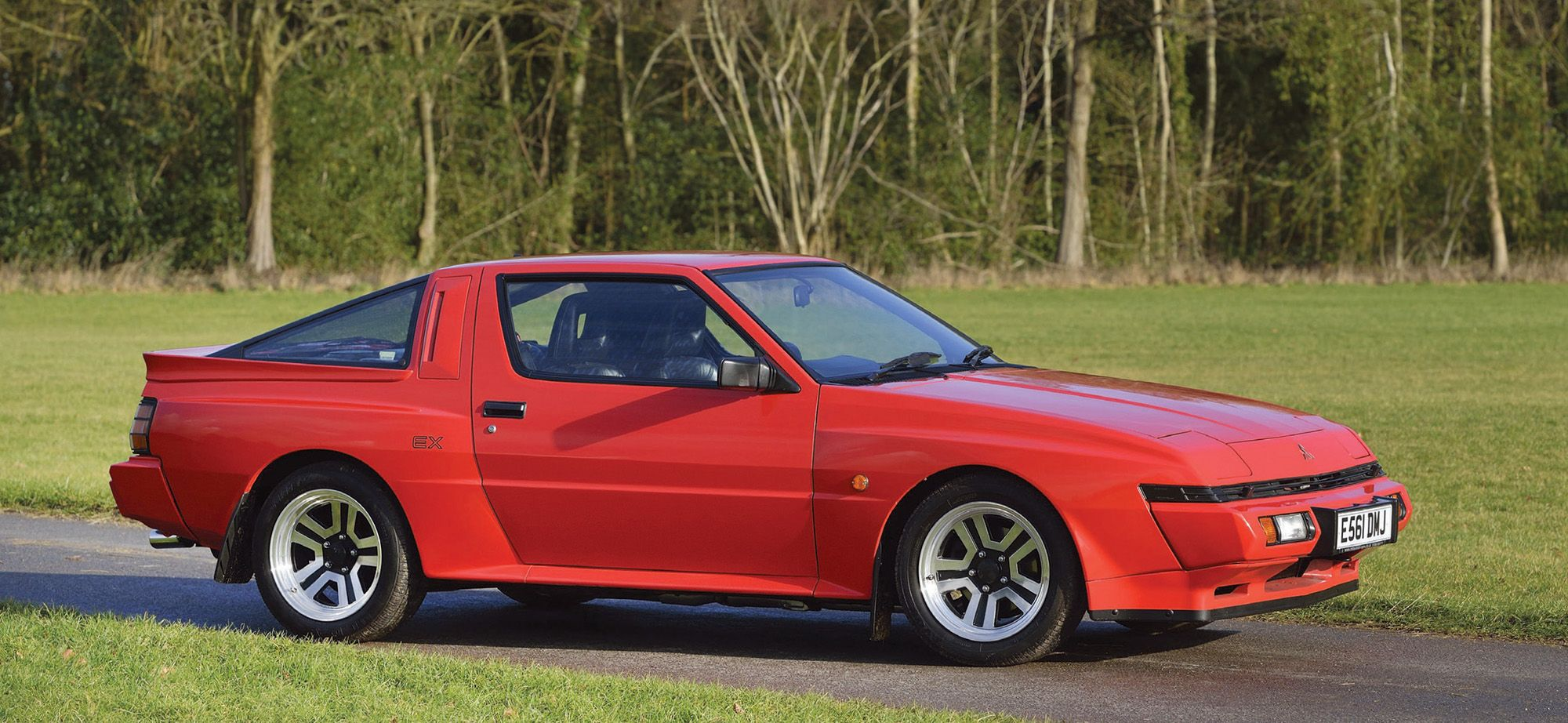 Vintage Views Mitsubishi Starion Esi R And Chrysler Conquest Tsi