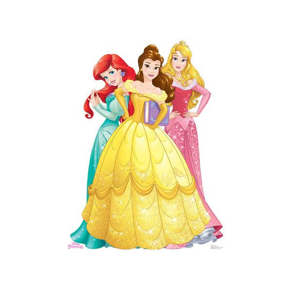 Princesses Group - Ariel, Belle, Aurora - Disney Princess Friendship... (€29) ❤ liked on Polyvore featuring home, children's room and disney