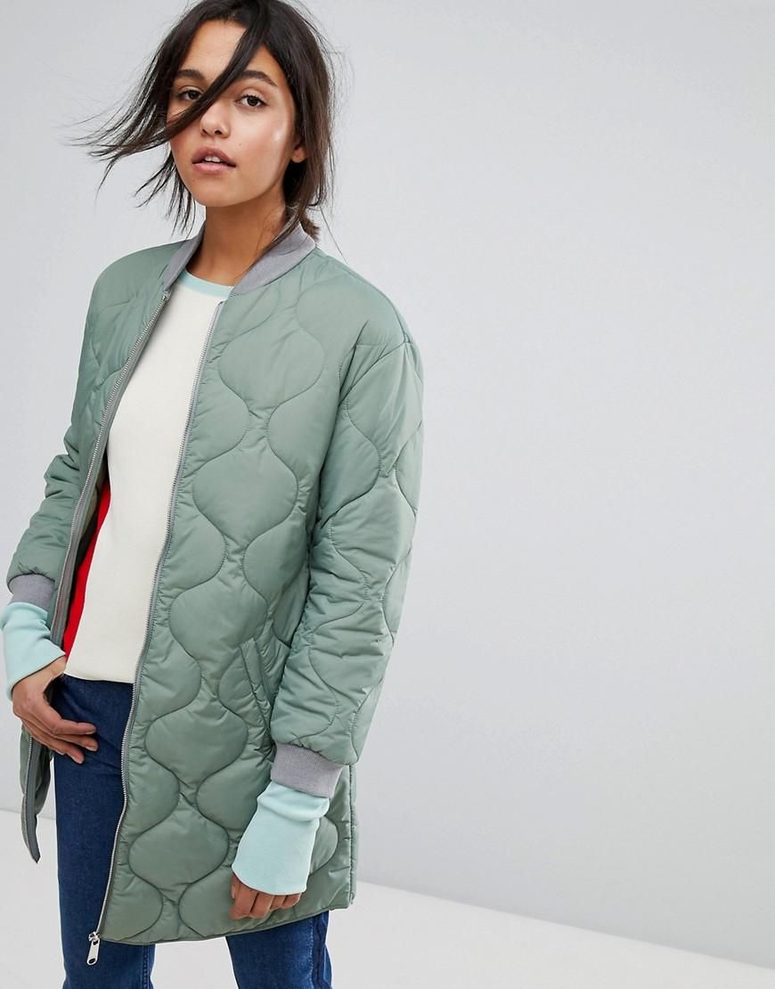 huge discount quite nice new authentic BFCM #CyberMonday #ASOS - #Max & Co Max & Co Quilted Bomber Jacket ...