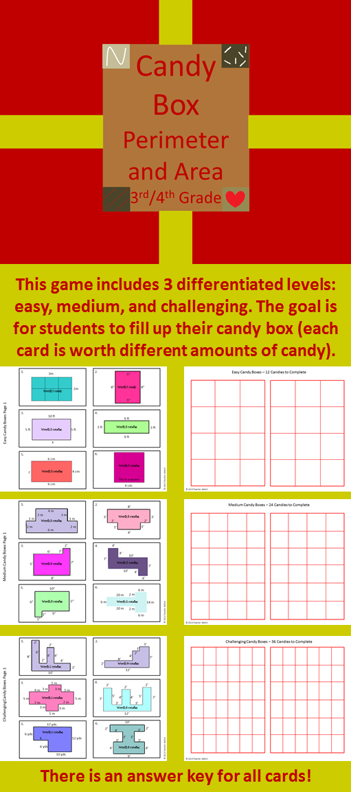 Area And Perimeter - Fourth Grade Games - Turtle Diary