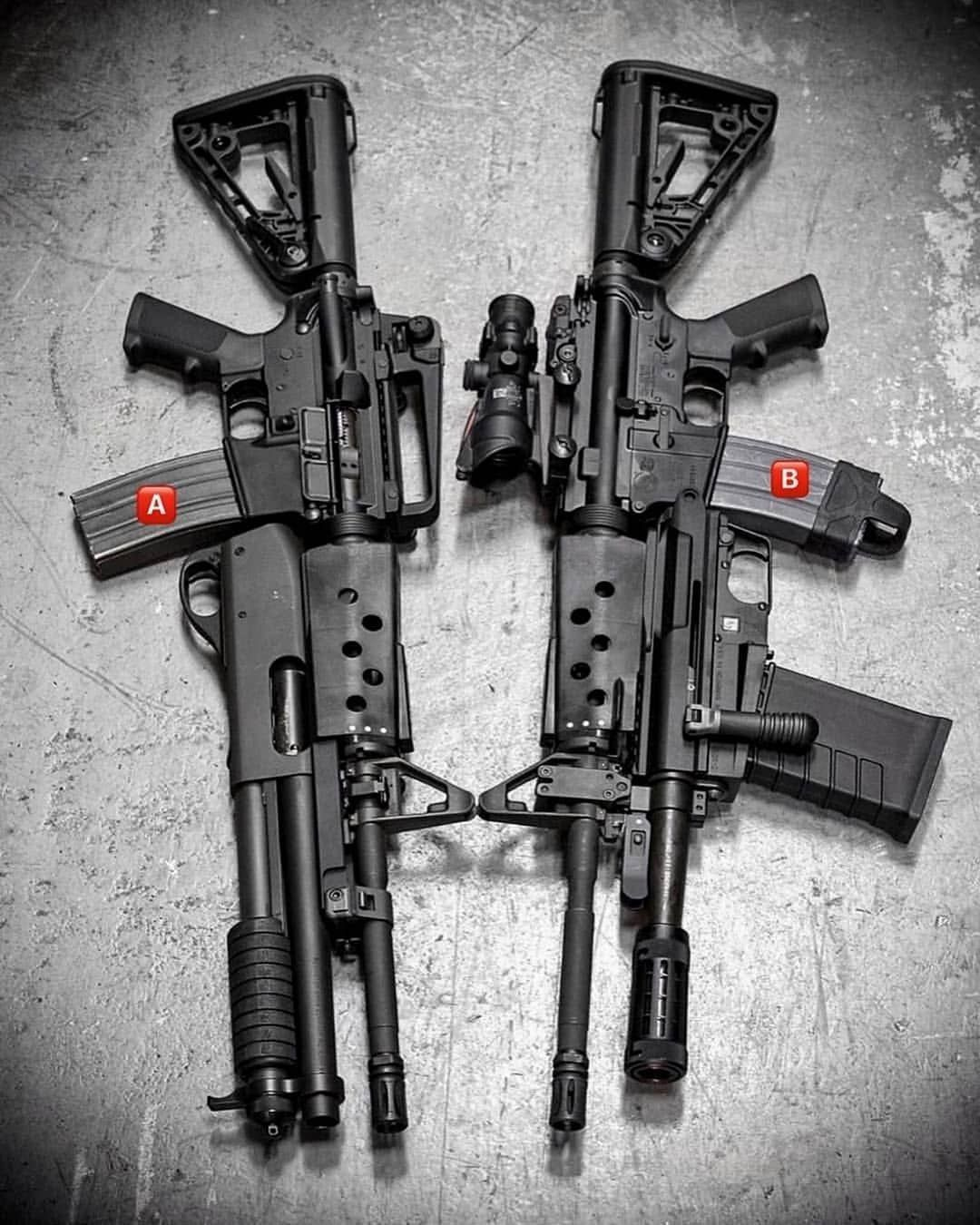 Guns Az MilitaryさんはInstagramを利用しています:「A or B ? . . . Follow me @gunsazmilitary Invite your friends to my page