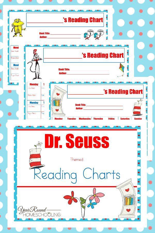 Free Dr. Seuss Reading Charts