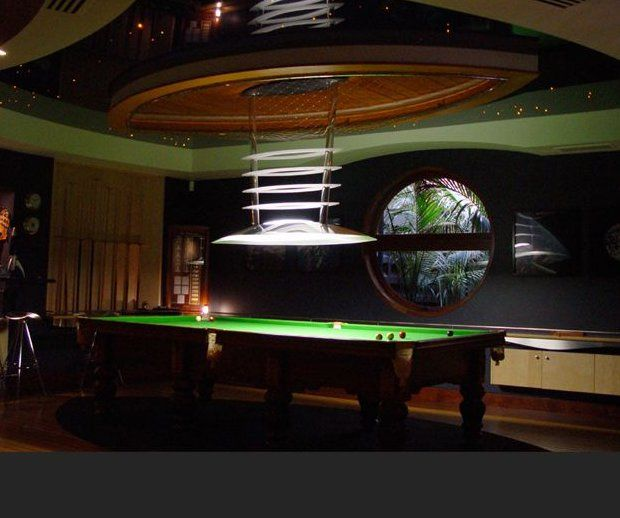 Snooker Table Lights Modern Marlay Grange Pinterest