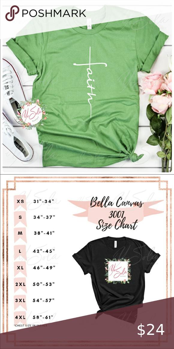 Faith - Leaf Green T-shirt, Graphic tee