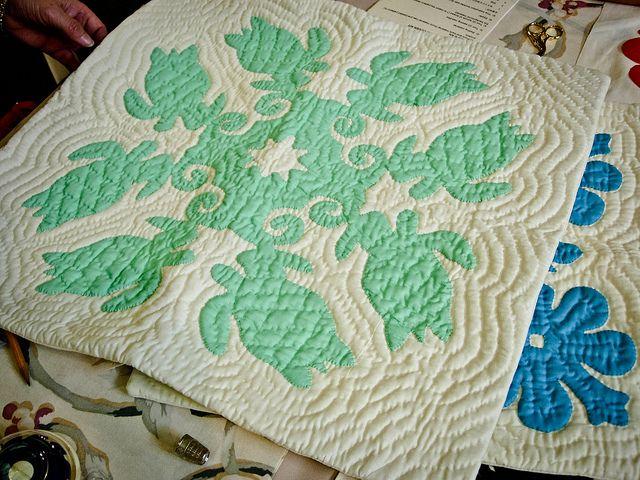 Hawaiian quilt ✿⊱hᗋᏇᗋᎥᎥᗋn ҨᘎᎥᏝƮᎦ⊰✿ hawaiian quilts