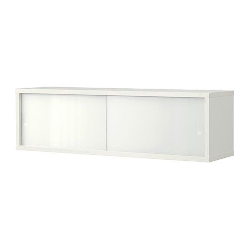 ÖSTHAMRA Wall cabinet with 2 glass doors - IKEA. 80x20x23, 145 aed ...