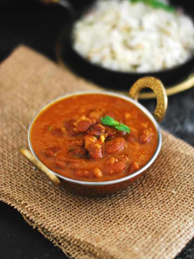 Punjabi Rajma Masala MariasMenu mariasmenu Vegetarian