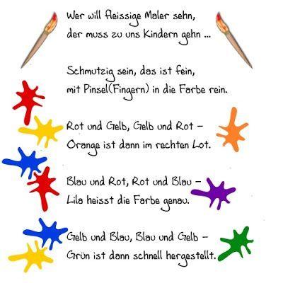 Bildergebnis für kindergarten jahresthema farben   Lieder ...
