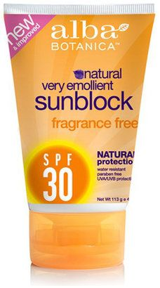 Alba Botanica Mineral Sunscreen SPF30 Review | Style