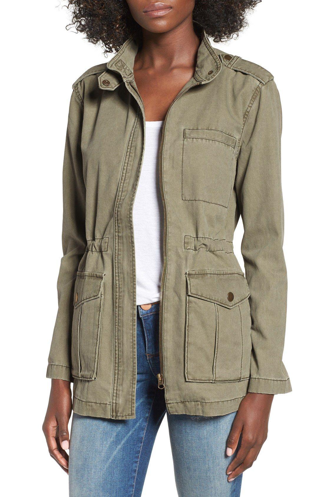 Fall Wardrobe Staple The Military Jacket The Golden Girl Stylish Jackets Anorak Madewell Fleet Jacket [ 1687 x 1100 Pixel ]