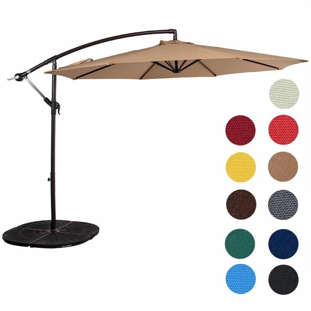Top 15 Best Offset Patio Umbrellas In 2020 Reviews Offset Patio Umbrella Patio Umbrella Patio Canopy