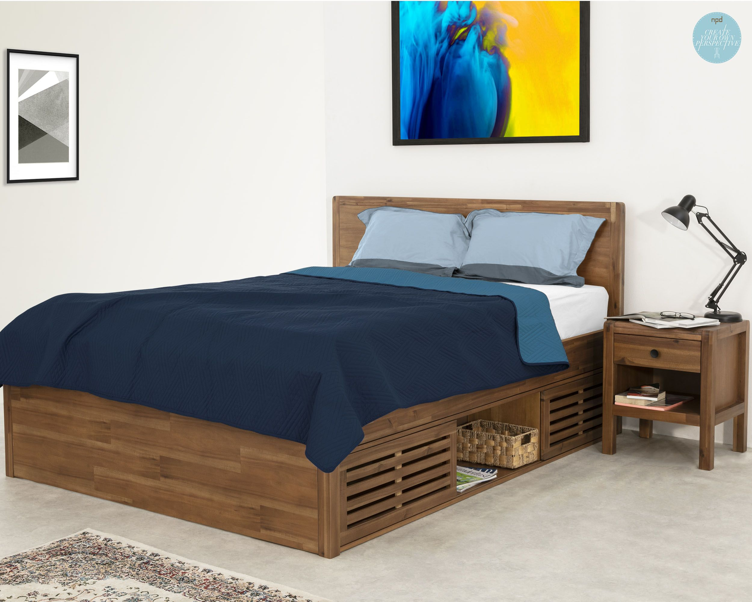 Stay In Bed Friday Modular Bed Set A Rounded Bullnose Frame
