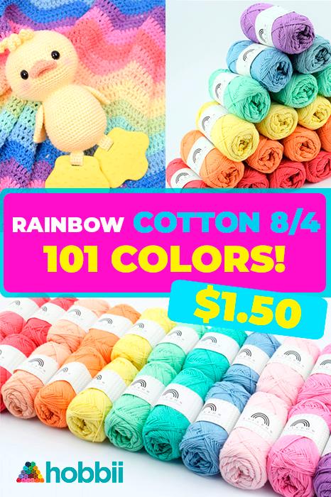 Photo of SALE! Save 36% on Rainbow Cotton