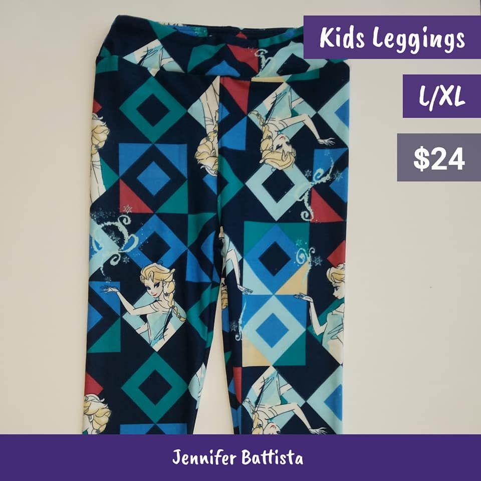 d54623f187207f LulaRoe Disney Frozen Leggings with Elsa and Ana. Shop Now with Jennifer  Battista for LulaRoe