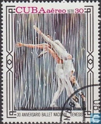 Postage Stamps - Cuba [CUB] - National Ballet