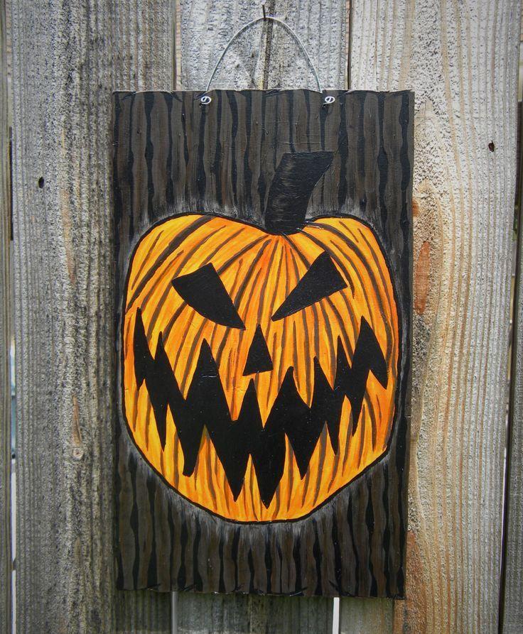 Nightmare Before Christmas/ Halloween Town Door, Halloween Door, Front Door\u2026