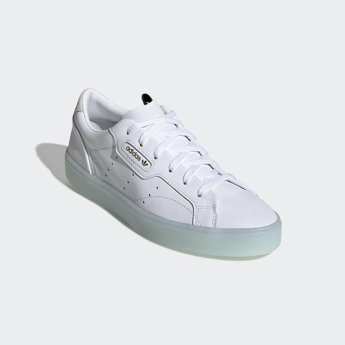 buy popular ff1a9 906ff adidas Sleek Shoes Cloud White 10.5 Womens