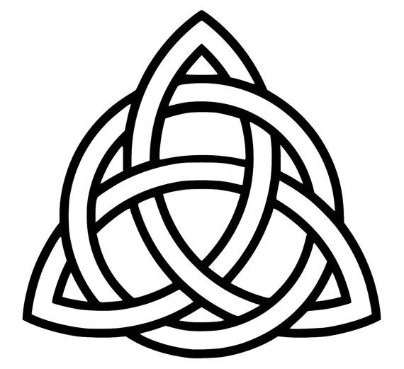 Celtic Family Knot - SVG PDF PNG Jpg Eps Dxf File - Welcome Silhouette- Cricut Compatible