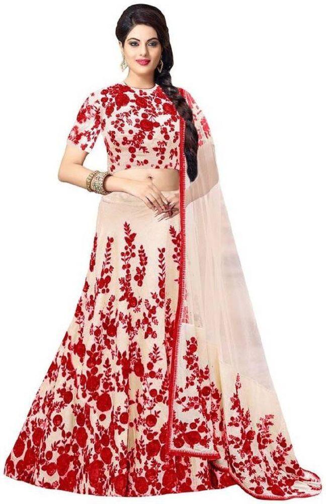 Bollywood anushka sharma Party Lengha Choli Wedding Saree Pakistani ...