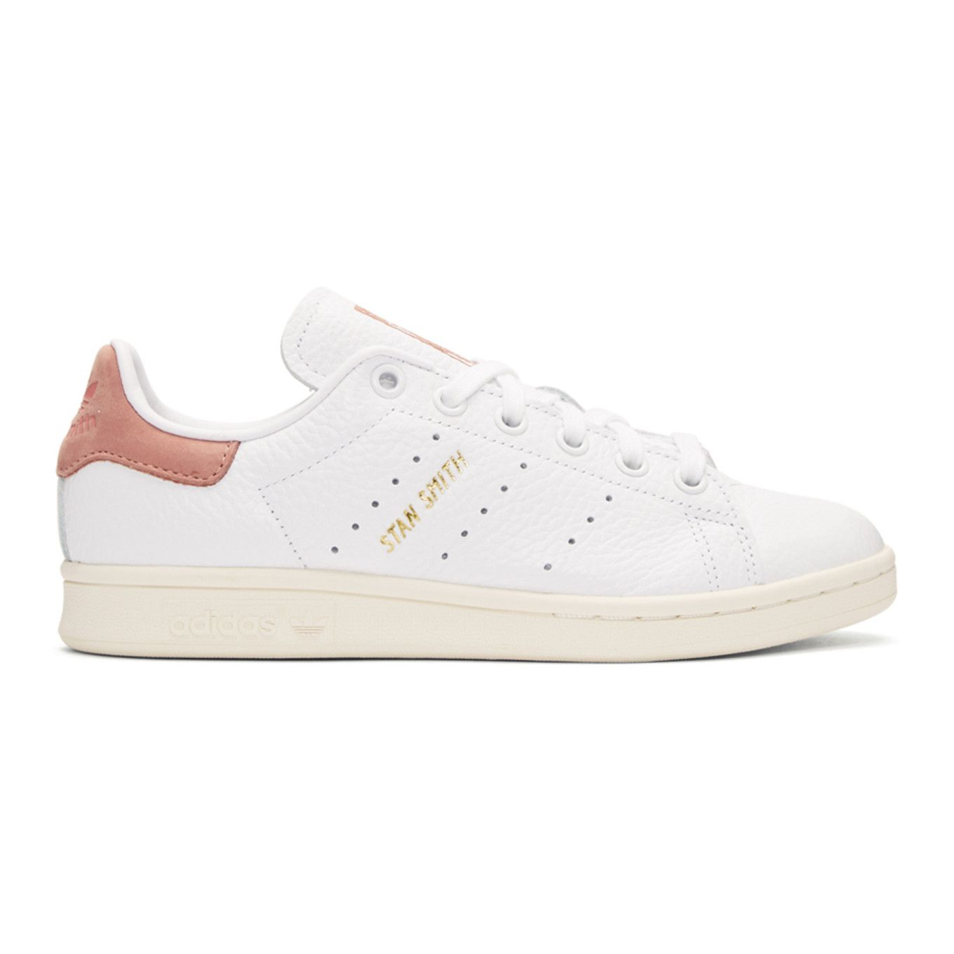 adidas Originals x Pharrell Williams White & Pink Stan