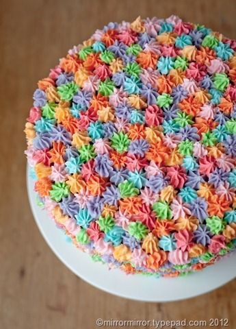 Easycakeicingidea Meal Idea Pinterest Cake Color - Homemade cake decorating ideas
