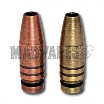 Bullet Drip Tips MADVAPES They Work With Most 808 And 901 Cartomizers Atomizers Are Made Of Copper Have A Good Weight To Them