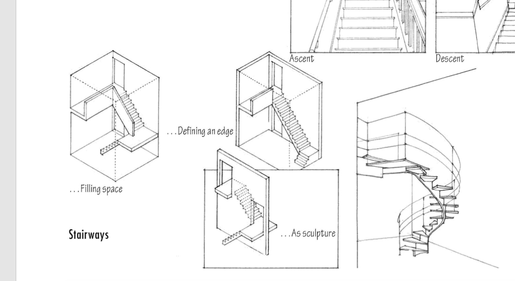 stair axon thesis stairs ladder staircases stairway ladders stairways [ 1776 x 968 Pixel ]