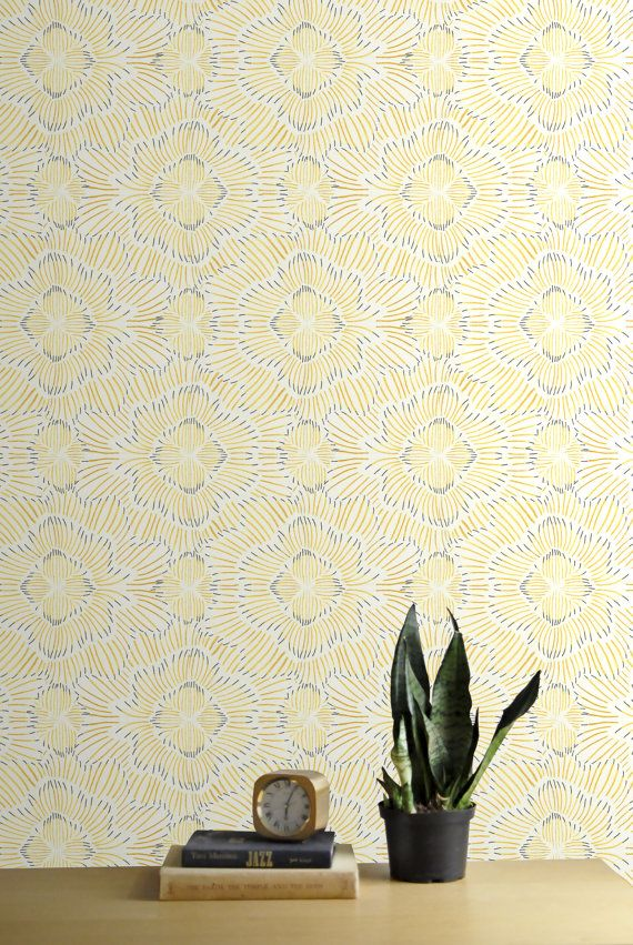 Removable Wallpaper  City Plan  Adheres to walls and shelves  Fully removable