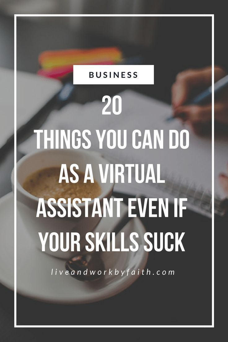 No technical skills? No problem! Here's a list of 20