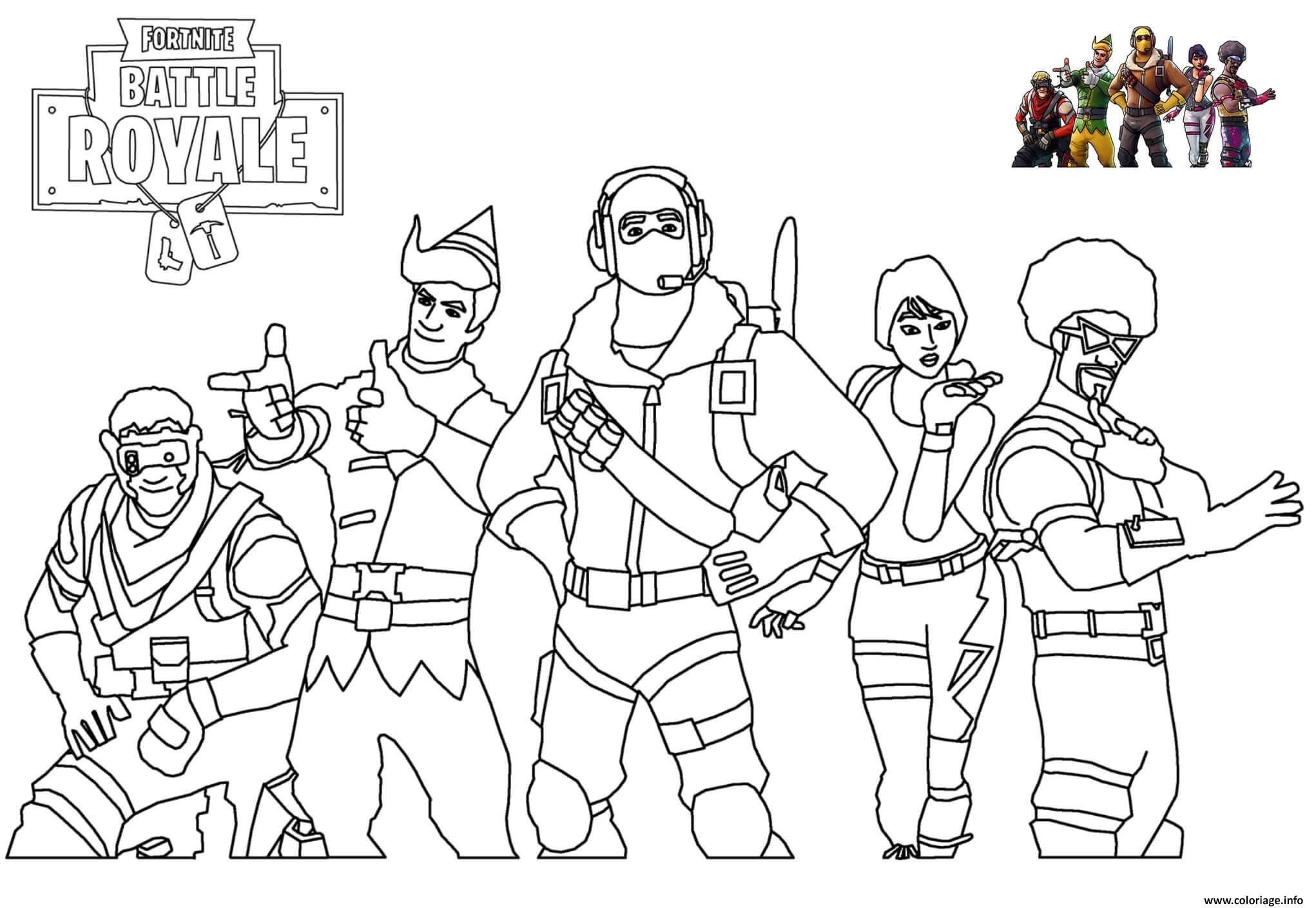 Coloriage Skins Picture Fortnite A Imprimer Coloriage Coloriage