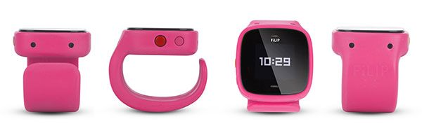 Filip Pink Watch Can Call Up To Five Numbers And Has A Locator Pink Watch Yellow Watches Wearable Computer