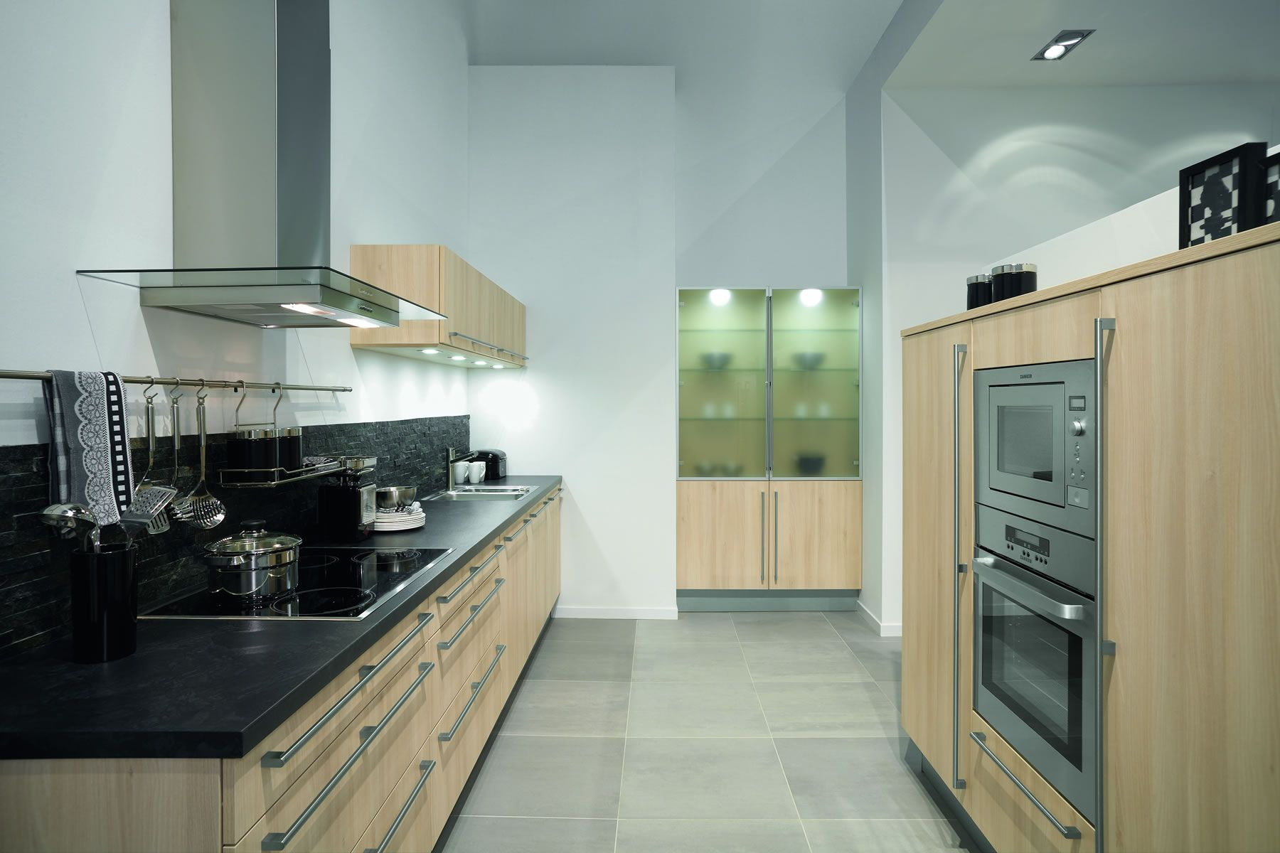 Hot New Galley Kitchen For Latest Designs Of Kitchen With Hard Maple ...