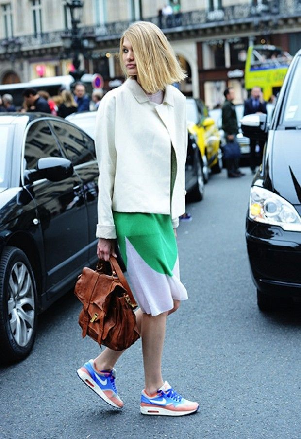 Photos via: Style | Stockholm Streetstyle--Get the look... Nike ...