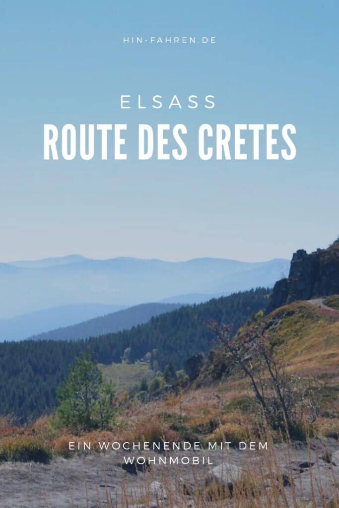 Photo of Motorhome travel tip Alsace: Route des Cretes through Vosges