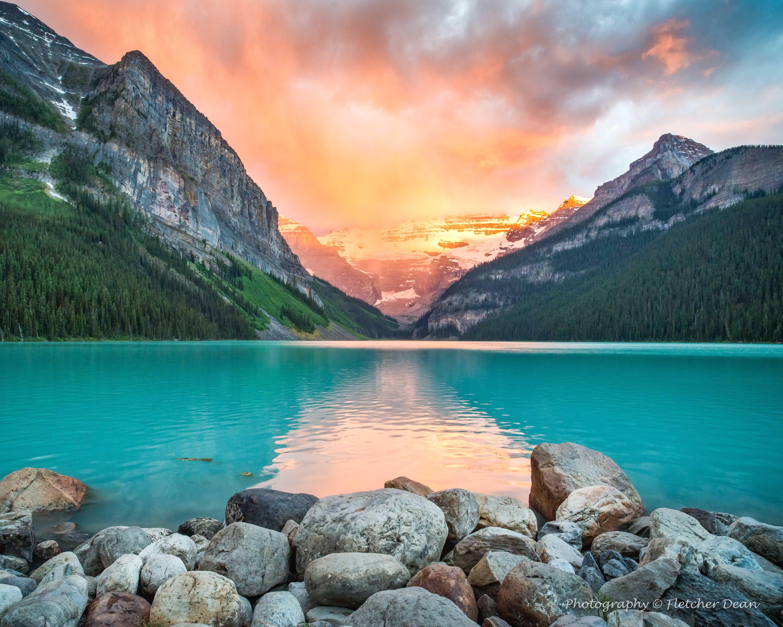Lake Louise In Banff National Park Alberta Imgur Banff National Park National Parks Lake Louise