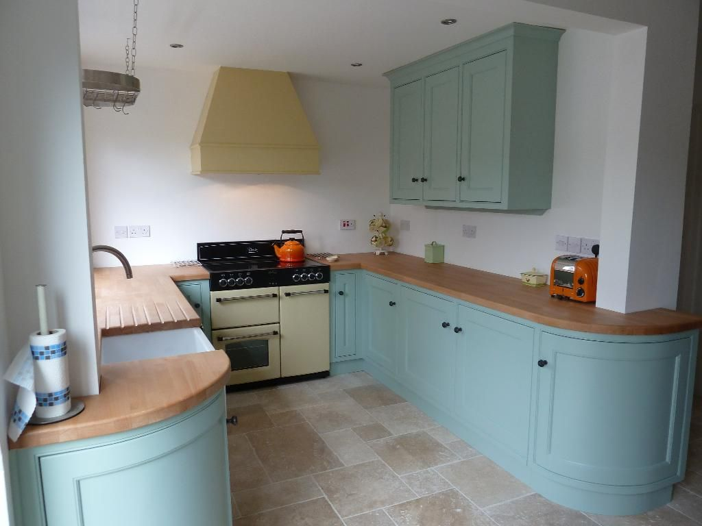 Duck Egg Blue Kitchen Unit Paint