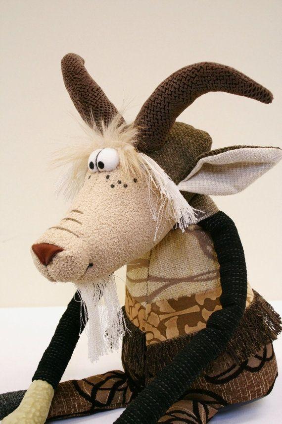 Billy Goat 35 inch by manartas on Etsy