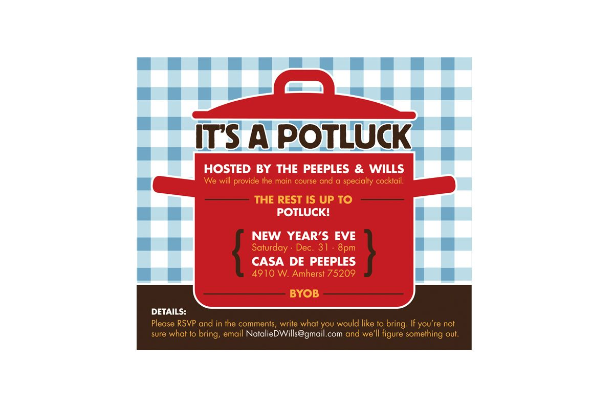 17 Best images about potluck invitations on Pinterest | Fiesta ...