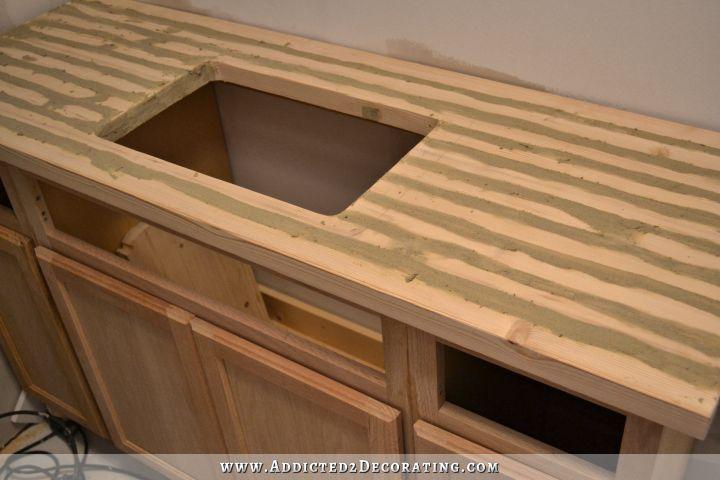 Diy butcher block countertop made for under 30 diy