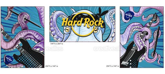 Check out this design by Krys10 Design for the @hardrock design contest on @CreativeAllies!