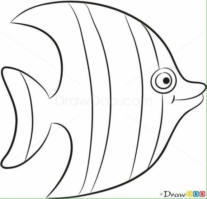 Pin By Martha Cecilia On Giane Sea Animals Fish Patterns Sea Theme