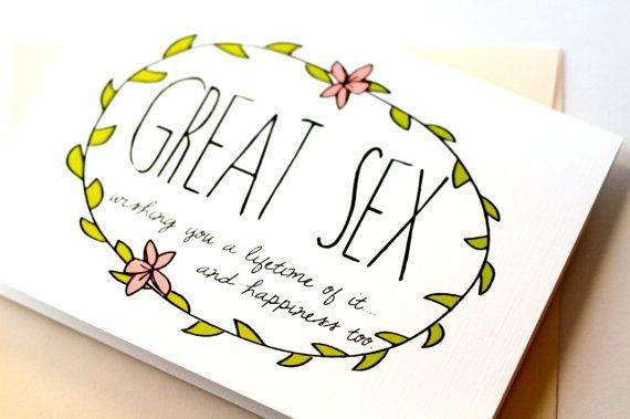 Congratulations Newlywed Card Funny Wedding Great Simple Eco Friendly On