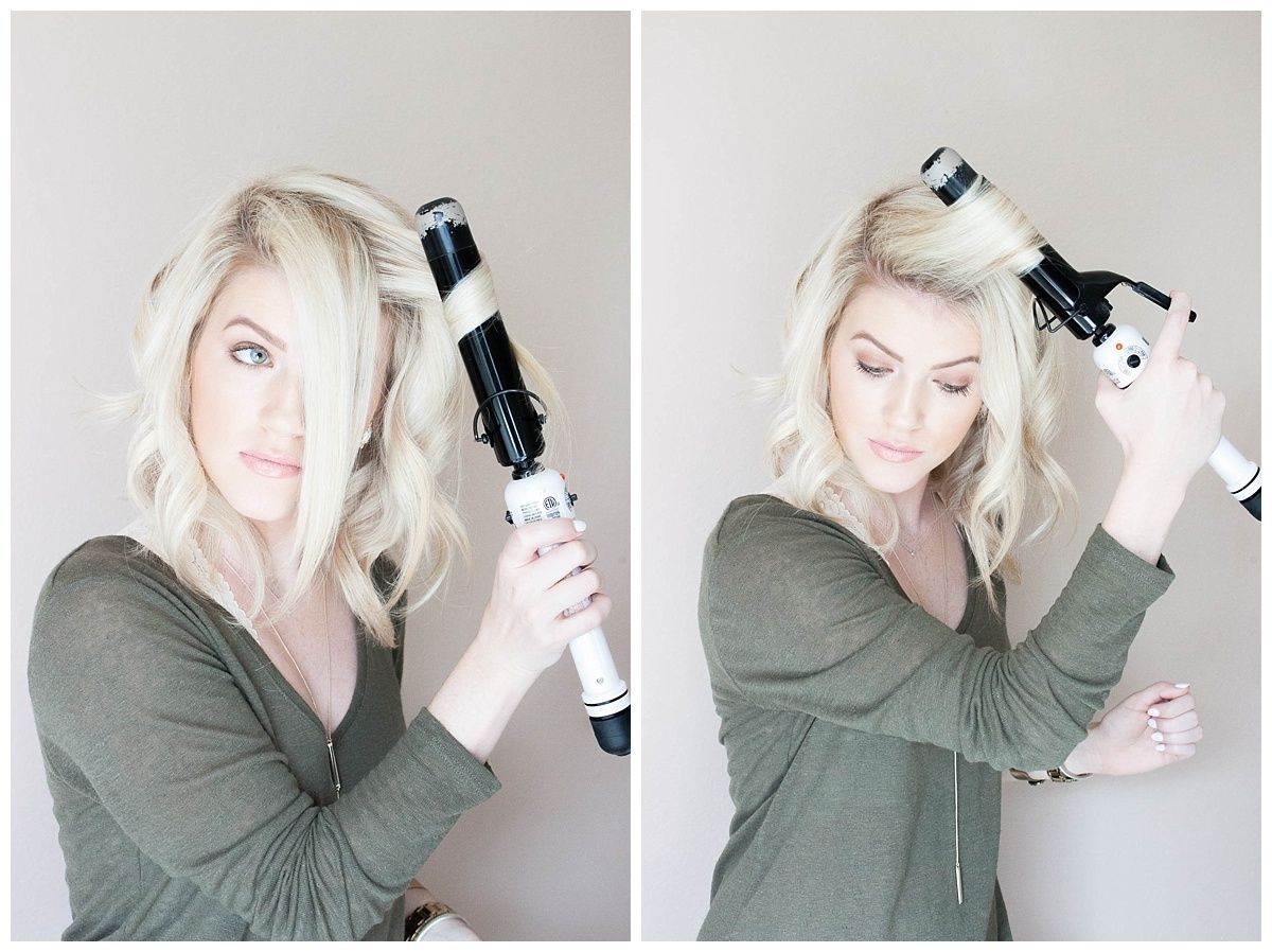 Kailey S Hair Tutorial How To Style A Long Bob Double Shot Of