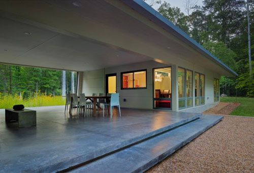 Southern architecture the dogtrot house breezeway for Dog trot house plans southern living