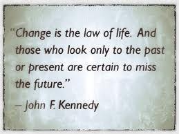 JFK-most definitely my senior quote