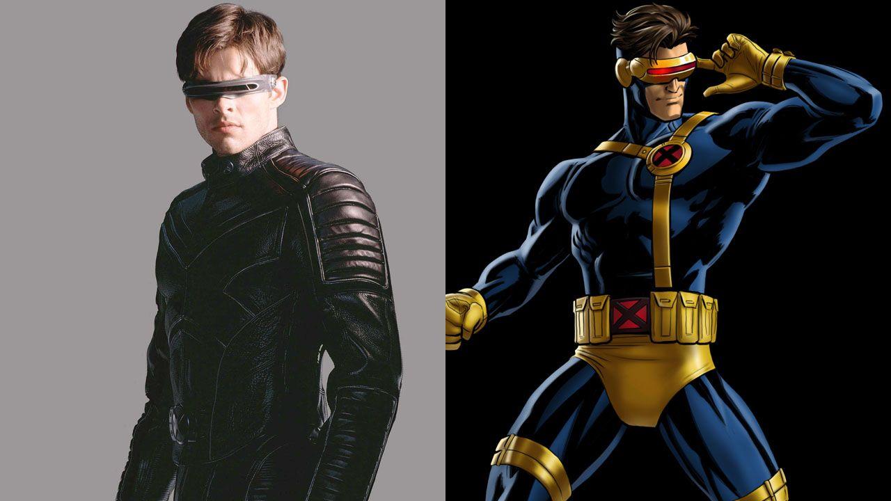 X-Men Characters | Men Character - 148.2KB